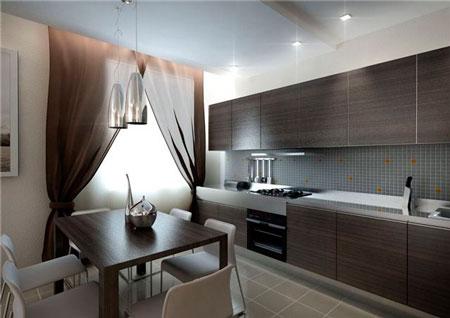 Дизайн кухни фото 15 кв